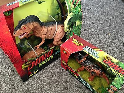 Toy Dinosaurs Remote control New in Box  X 2