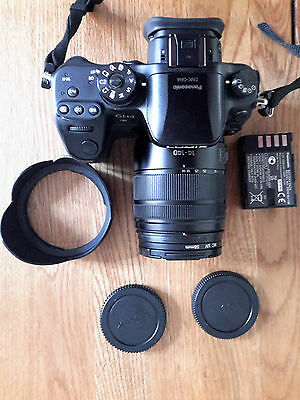 Panasonic LUMIX DMC-GH4 Digitalkamera-Schwarz (Kit mit ASPH OIS 14-140) TOP
