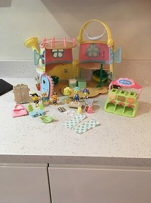 FIFI AND THE FLOWER TOTS WATERING CAN HOUSE ACCESSORIES Figures Shop Bundle VGC