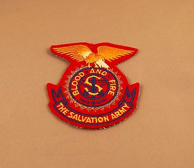 "Salvation Army ""eagle crest"" old style patch"