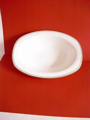 Royal Doulton 'gold Concord' Fine Bone China Large Pie Dish  - White/gold