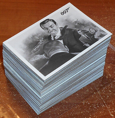 James Bond Autographs & Relics 2013 ~ GOLDFINGER 110-Card Throwback Set