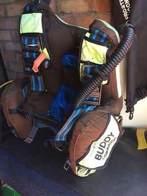 Scuba Diving BCD Stab Buddy Command Medium Old Style