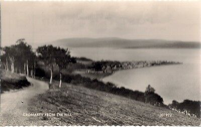 Splendid Old Postcard - Cromarty From The Hill - Ross & Cromarty C.1947