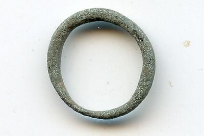Authentic ancient bronze Celtic ring money, 800-500 BC, Central Europe