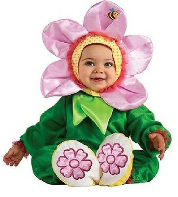 NEW Rubies PINK PANSY FLOWER Infant Costume Noah's Ark Baby 6-12 or 12-18 Months