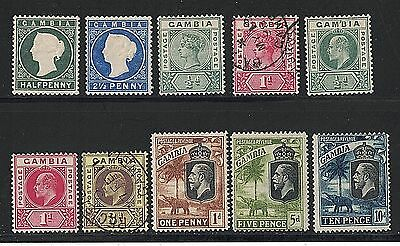 Gambia - Used & Unused Group of 10