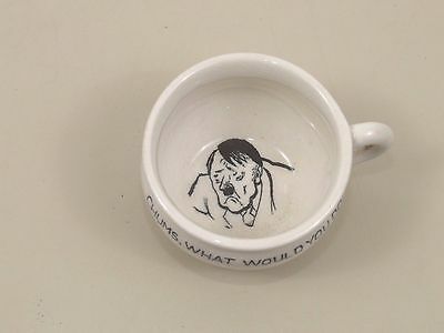 World War 2 Vintage Novelty Miniature Chamber Pot