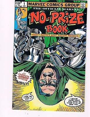 "Marvel No-Prize Book #1 (1982)  ""marvel's Massive Mistake Issue"""