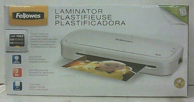 NEW Fellowes M1-95 Laminator 9.5 Inch Laminating Machine With 10 Pouches