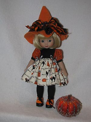 """10"""" Mary Engelbreits Ann Estelle Doll By Tonner Dressed In Halloween Outfit"""