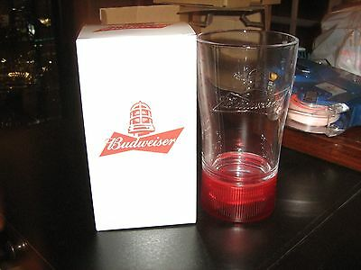 Budweiser Goal Synced Red Light Glass Limited Edition SYNC Canada