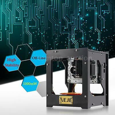 NEJE DK-8-KZ 1000mW High Speed USB Laser Engraver DIY Printer Engraving Machine