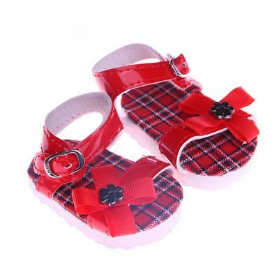 18inch Doll Shoes Summer Flat Sandals for 18'' American Girl Journey Doll