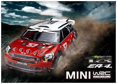 Thunder Tiger 6402-f101 ER4 G3 2.4GHz 4wd sin escobillas rally-car RTR 1:8