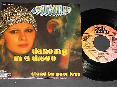 "Vinyl Single 7"" GANYMED Dancing In A Disco aus 1979"