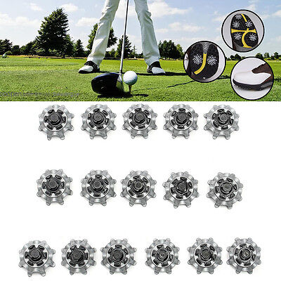 16Pcs Golf Shoes Spikes Studs Cleats Replacement Fast Twist For Tri-Lok Footjoy