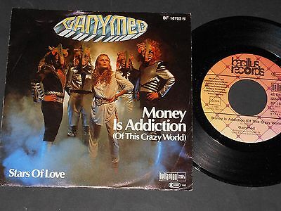 "Vinyl Single 7"" GANYMED Money Is Addiction aus 1980"