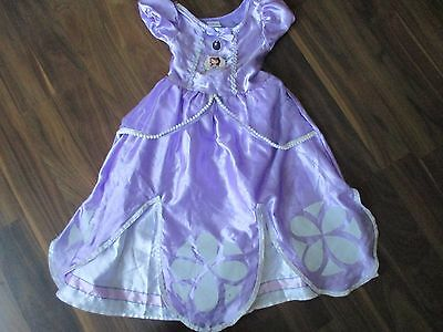 Girls SOFIA THE FIRST fancy dress outfit costume 5-6 years VGC