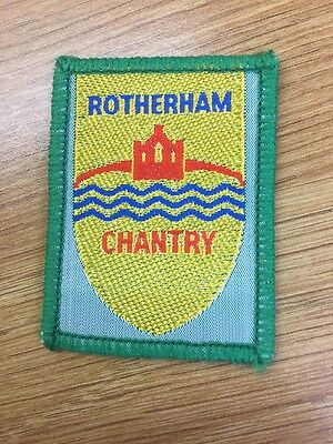 Rotherham Chantry District Scout cloth badge