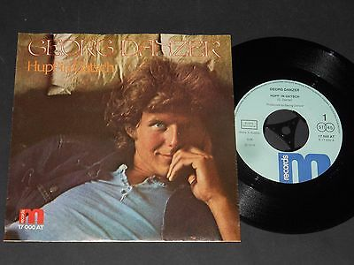 "Vinyl Single 7"" GEORG DANZER HUPF in Gatsch / Ruaf mi net an aus 1976"
