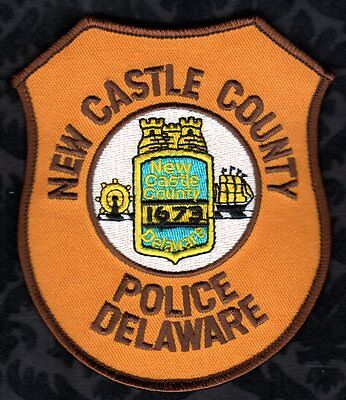 New Castle County Delaware Police shoulder Patch