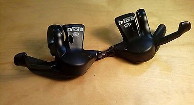Shimano Deore Gear Shifters, 3 x 9 speed, SL-M510, trigger