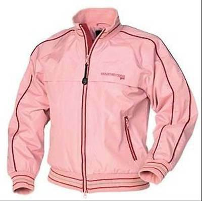 """NEW MOUNTAIN HORSE PINK NIMBUS JUNIOR CASUAL / RIDING JACKET 38"""" CHEST  HT 160cm"""