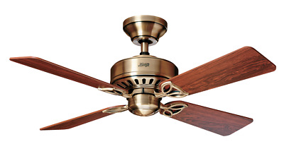 Deckenventilator Hunter Bayport 107 cm Messing antik