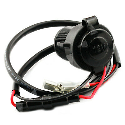 12V 20A Motorcycle Cigarette Lighter Waterproof Motorbike Power Supply Socket