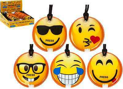 EMOJI LED TORCHES  X 24, JUST 85p, GREAT FUN, GREAT GIFT ASSTD DESIGNS.