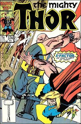 Thor (1962-1996 1st Series Journey Into Mystery) #374 VG LOW GRADE