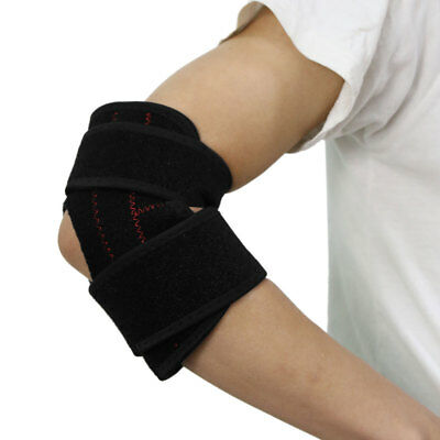 Neoprene Adjustable Gym Sport Elbow Support Arthritis Protect Wrap Strap Brace