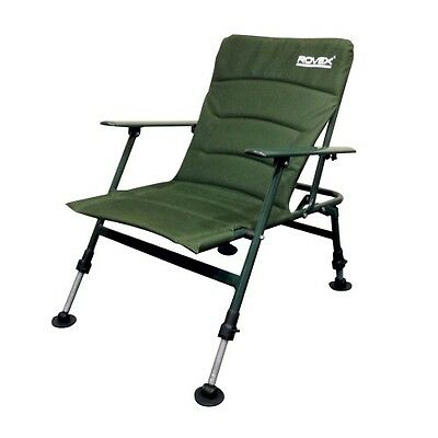 Brand New Rovex Specimen low  Chair With Arms  Carp Fishing