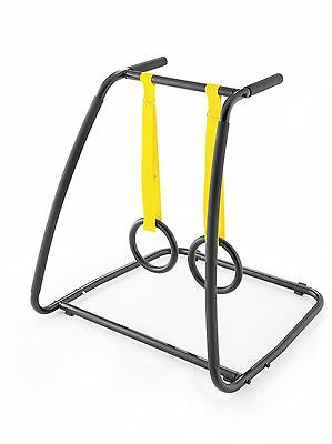 Kettler Crossrack Bodyweight-Trainingsstation inkl. Turnringe Slackline