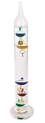 Official Science Museum Galileo Thermometer Temperature Gauger Artistic Gift