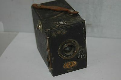 Ensign Metal Body All Distance Box Camera.