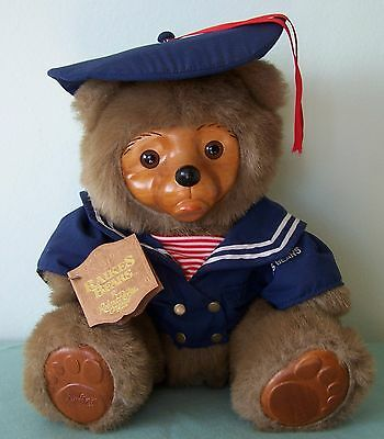 Raikes  Bear #5455 Christopher Sailor Pouty Lip 1986 Signed And Numbered On Paw