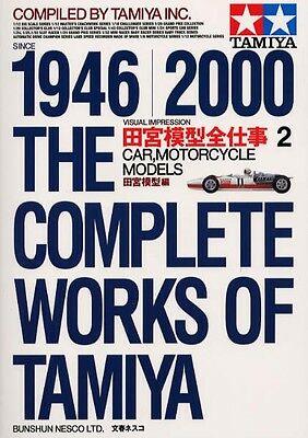 The Complete Works of Tamiya 1946-2000 #2 Car Model Catalogue Guide Book