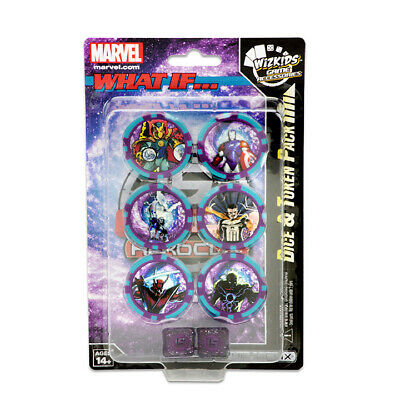 HeroClix: Marvel: 15th Anniversary What If? Dice and Token Pack