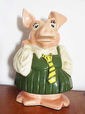 Vintage Wade Natwest Pig Anabelle money box piggy bank & stopper