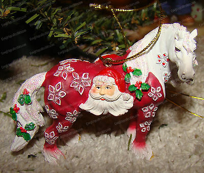 Santa Claus Horse (Horse Different Color by Westland, 20640) Clydesdale Ornament