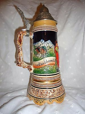 Mapsa musical lidded stein Germany