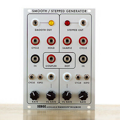 Random*source Serge Smooth & Stepped Generator (SSG) eurorack doepfer