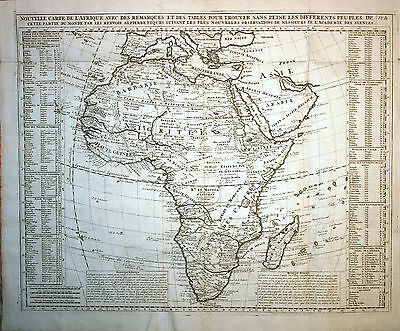 Africa - Chatelain 1707