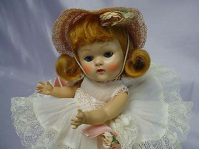 VOGUE Ginny Strung 1953 Auburn Doll PARTY Outfit ADORABLE