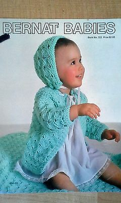 BERNAT BABIES - Crochet & KNit Pattern Book  ( 1976 )