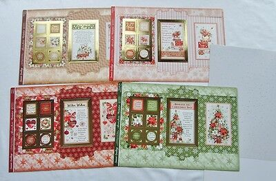 Hunkydory Window To the Heart Through The Window Christmas Card Making Kit