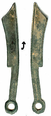 Authentic rare pointed-tip knife, State of Yan, 600-400 BC, Warring States China