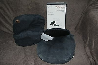 Brand New Bugaboo Diesel Donkey Special Edition Fabric Set Apron Extendable Hood